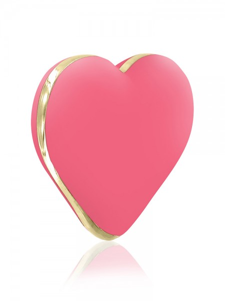 Rianne S Heart Vibe: Aufliegevibrator, rosa/gold