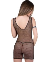 Eros Veneziani Antonia: Minikleid und String, schwarz