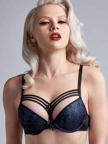 Marlies Dekkers Dame de Paris: Padded Push-Up BH, bijou blue