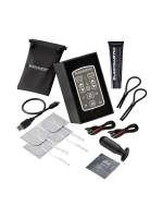 ElectraStim Flick Duo Multi-Pack: Elektro-Set, schwarz/silber