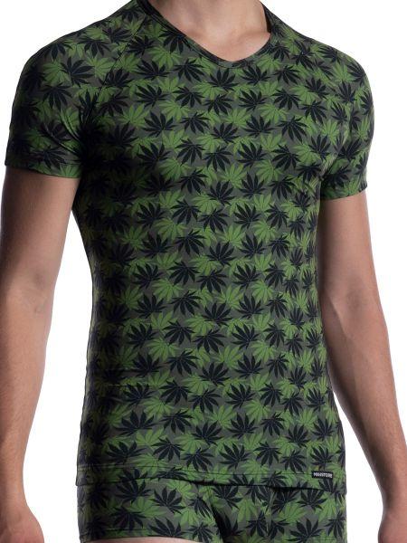 MANSTORE M800: V-Neck-Shirt, dope