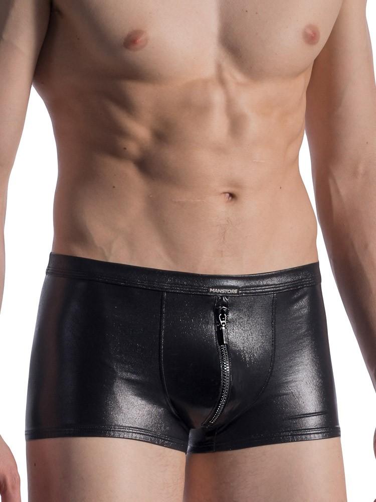 MANSTORE M813: Zipped Pant, schwarz