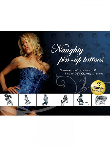 Tattoo-Set: Naughty Pin-Ups