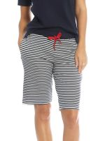 Sassa Sea Spirit: Shorts, midnight blue stripe