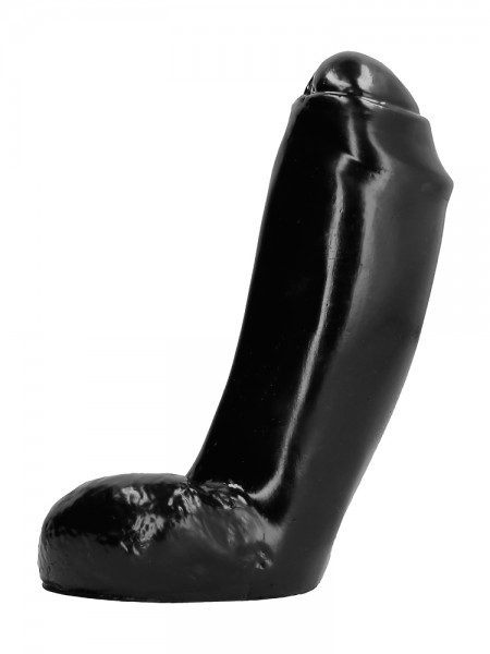 All Black AB46: Dildo, schwarz