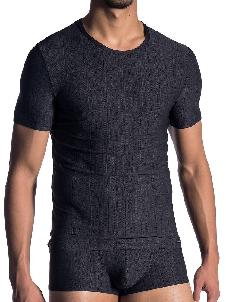 Olaf Benz PEARL1801: T-Shirt, schwarz