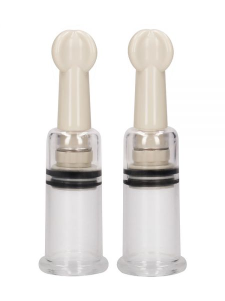 Pumped Nipple Suction Set S: Nippelsauger-Set, transparent