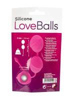 Silicone Love Balls: Liebeskugeln, rosa