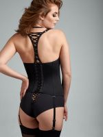 Marlies Dekkers Angel of Harlem: Padded Balcony Strapscorsage, schwarz