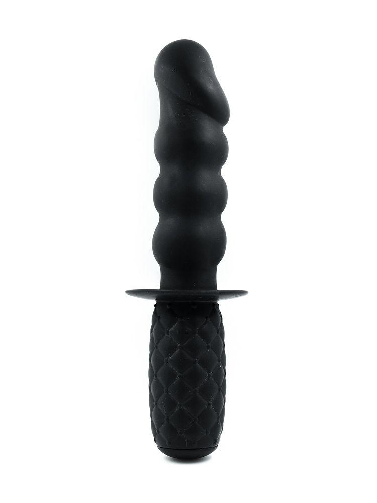Punishment Thorn Dildo: Dildo/Analplug 4,5´´, schwarz