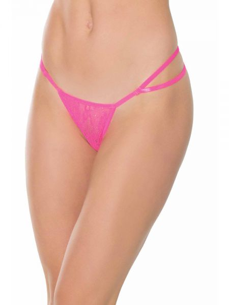 Coquette: G-String, hot pink