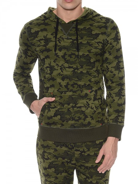 2(X)ist Activewear: Hooded Pullover, camo
