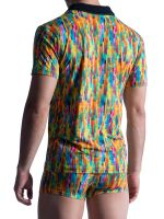 MANSTORE M851: Polo Shirt, rainbow