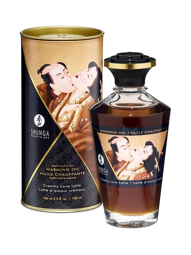Shunga Intimate Kisses �l Creamy Love Latte: Körperöl (100ml)