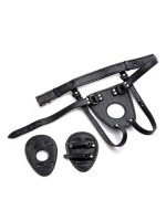 Master Series Ass Holster: Herren-Harness für Analplug, schwarz