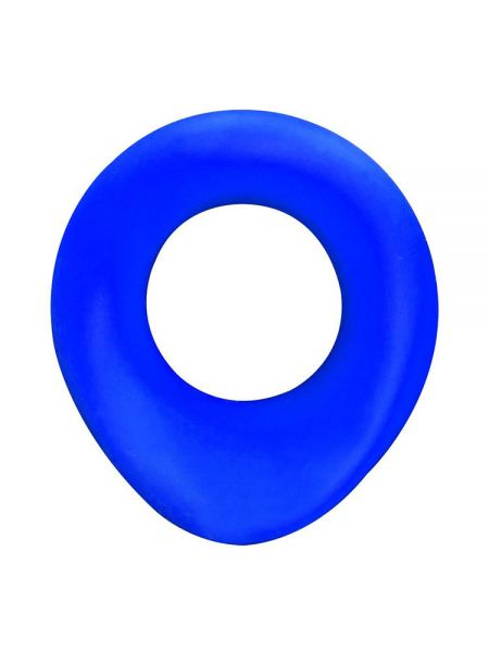 Sport Fucker The Wedge Silicone: Penisring, blau