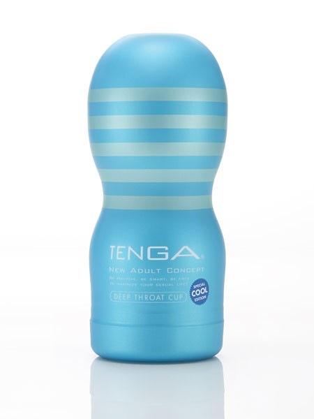 Tenga Cool Edition Deep Throat Cup: Masturbator