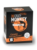 The Crazy Monkey Crazy Condoms Collection 100er Pack