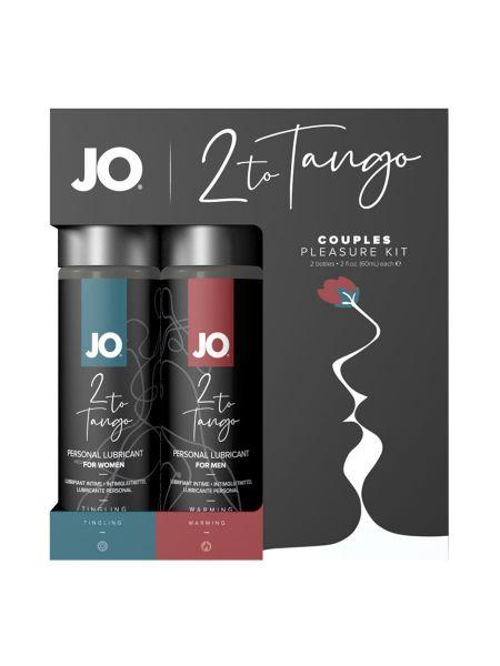 System JO 2toTango: Gleitgel-Set 2-teilig für Paare