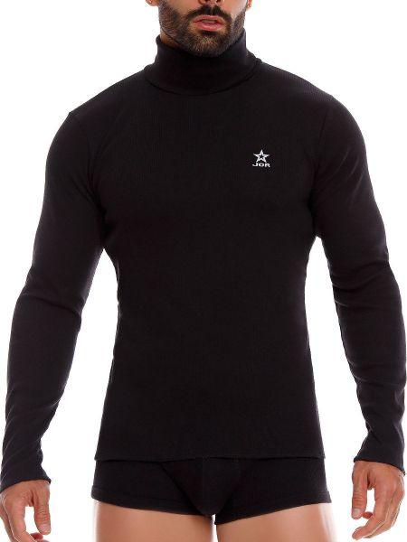 JOR Arizona: Longshirt, schwarz