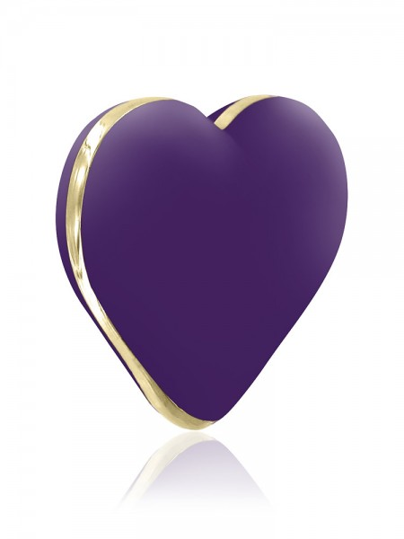 Rianne S Heart Vibe: Aufliegevibrator, lila/gold