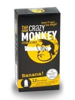 The Crazy Monkey Condoms Banana 12er Pack