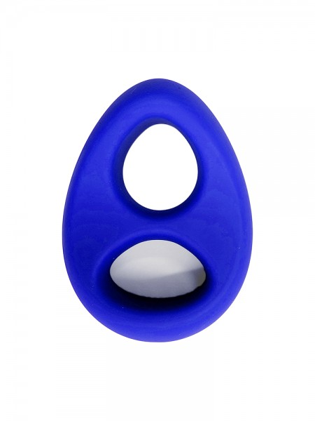Sport Fucker Stabilizer Ring: Penis-/Hodenring, blau