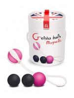 Geisha Balls Magnetic: Liebeskugeln, pink/grau