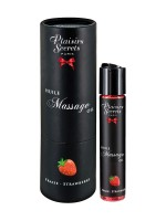 Plaisirs Secrets Strawberry: Massageöl (59ml)