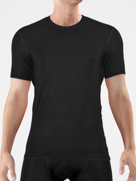 Bangert: T-Shirt, schwarz