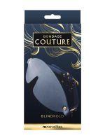 Bondage Couture Blind Fold: Augenbinde, blau