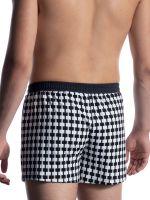 MANSTORE M2050: Sport Short, schwarz/weiß
