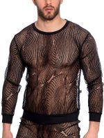 L'Homme Desire: Shirt, schwarz