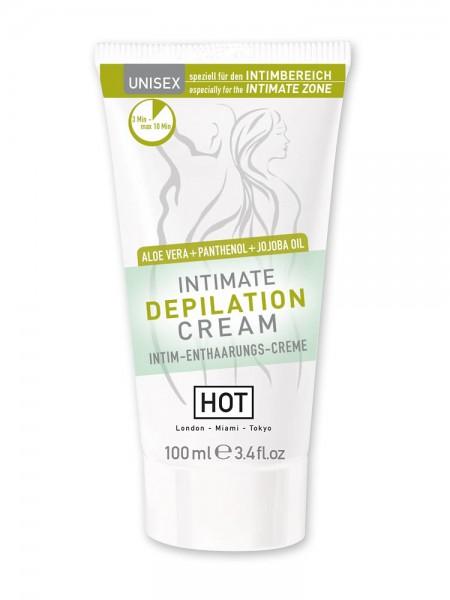 HOT Intimate Depilation Creme: Enthaarungscreme (100ml)
