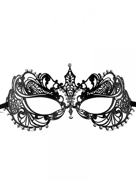 Ouch! Maske: Phantom Masquerade, schwarz