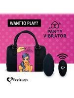 FeelzToys Panty Vibe Remote Control: Panty-Vibe, schwarz