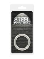 Steel Power Tools: Edelstahl-Penisring (40mm)