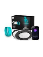 SenseMax VR Pleasure Set Lite: VR-Brille mit interaktivem Armband, türkis