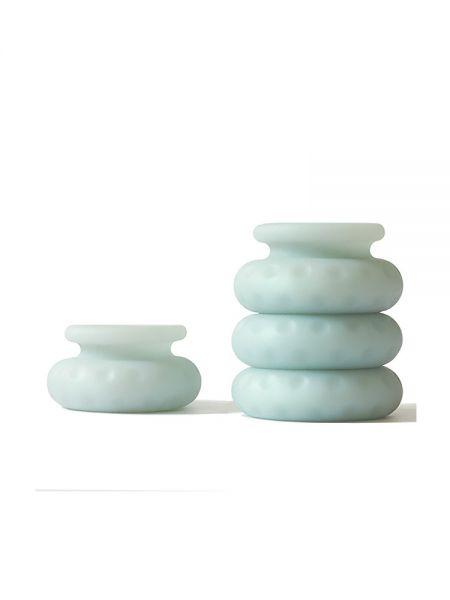 OHNUT Classic Soft Buffer Rings: Penisring-Puffer 4er-Set, jade