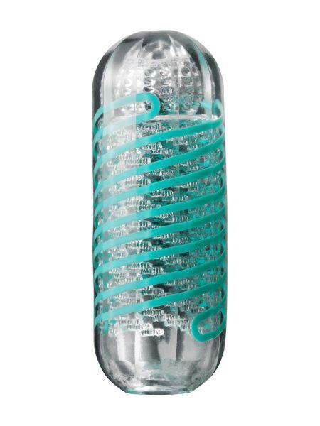 Tenga Spinner Pixel: Masturbator, transparent/türkis
