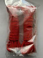 Demoniq Shibari: Bondageseil 2x 8m, rot