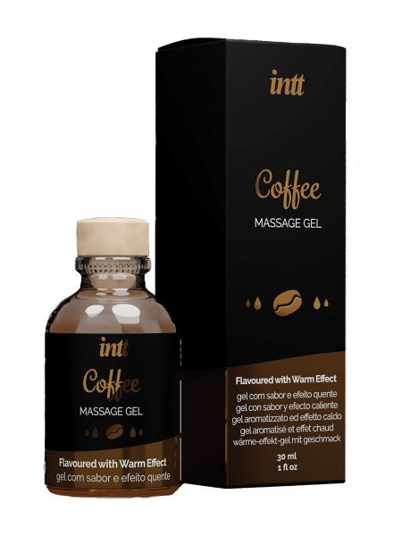 intt Massage Gel Coffee: Massagegel (30ml)