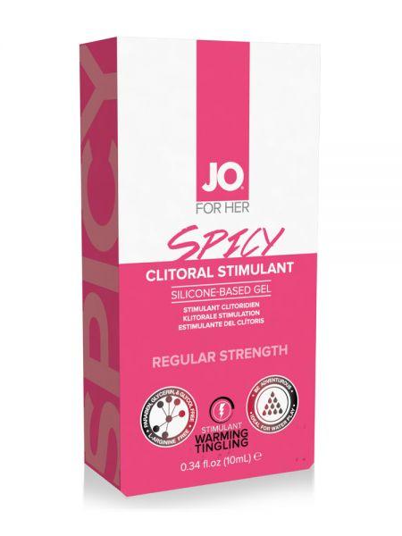 System JO Spicy Clitoral Stimulant Gel (10ml)