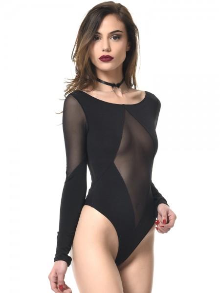 Patrice Catanzaro Jelena: Body, schwarz