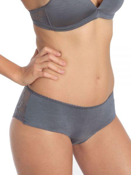 Sassa Bamboo & Lace: Panty, dusty grey