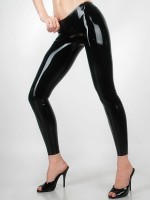 Latex-Leggings: Lady Patricia, schwarz