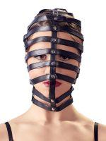 Bad Kitty: Kopfmaske Käfig, schwarz