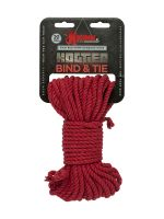 Kink Bind & Tie Bondage Rope: Bondageseil (15 m), rot