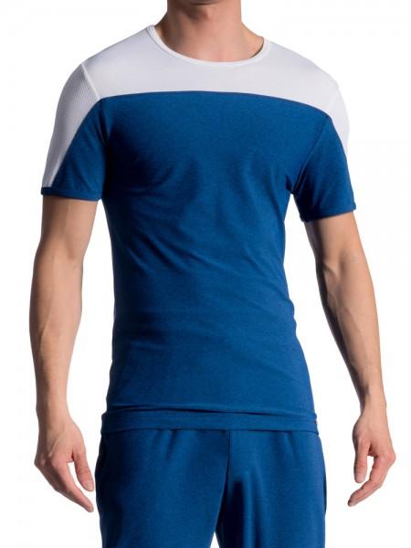 Olaf Benz RED1714: T-Shirt, cobalt
