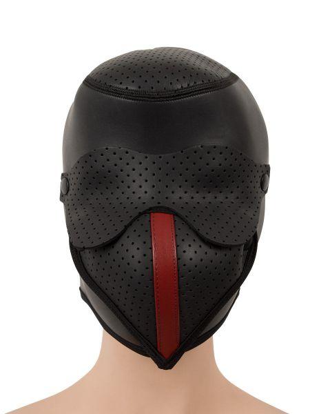 Kopfmaske aus Neopren, schwarz